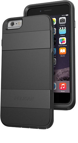 Voyager Case for Apple iPhone 6/6s Plus - Black