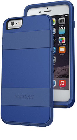 Voyager Case for Apple iPhone 6/6s Plus - Blue