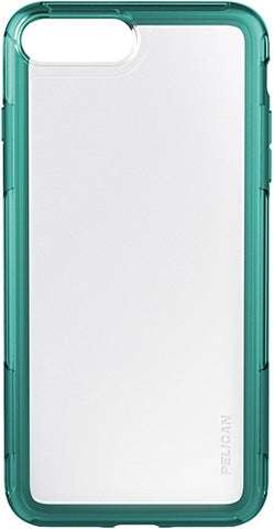 Adventurer Case for Apple iPhone 6/6s Plus / 7 Plus / 8 Plus - Clear Teal