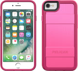 Protector Case for Apple iPhone 6 / 6s / 7 / 8 - Fuchsia Pink