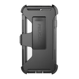 Voyager Case for Apple iPhone 7 Plus - Clear Gray