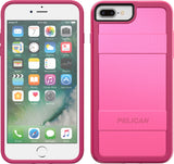 Protector Case for Apple iPhone 6 / 6s / 7 / 8  Plus - Fuchsia Pink