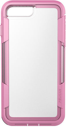 Voyager Case for Apple iPhone 7 Plus - Clear Pink