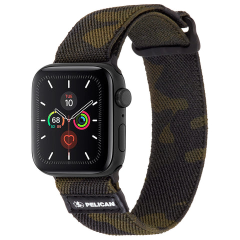 Protector Watch Band for Apple Watch 42mm / 44mm - Camo Green