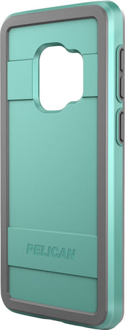 Protector Case for Samsung Galaxy S9 - Aqua Gray