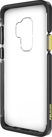 Ambassador Case for Samsung Galaxy S9+ (PLUS SIZE) - Clear Black