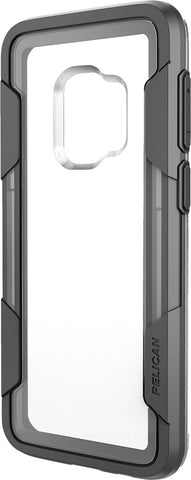 Voyager Case for Samsung Galaxy S9 (No Belt Clip) - Clear Gray