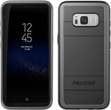 Protector Case for Samsung Galaxy S8+ (PLUS SIZE) - Black/Gray