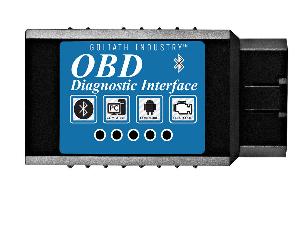 KOBRA OBD2 Scanner Bluetooth Scan Tool Adapter - Wirelessly Feeds Your Cars  Data To Your Phone! Check Engine Light Eliminator! Car Code Reader for
