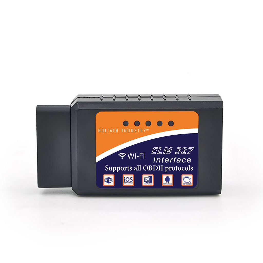 KOBRA Wireless OBD2 Car Code Reader Scan Tool OBD Scanner Connects Via WiFi  With IOS, Android & Windows Device, Features 3000 Code Database, For Most