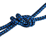 KOBRA Products Portable Parachute Nylon Hammock - For Camping and Outdoor, Strong Ropes and Carabiner Hooks Included (Blue), Approx 275cm x 140cm)