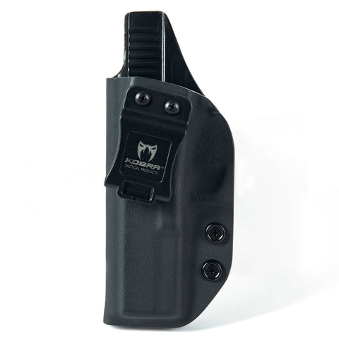 KOBRA Products IWB Holster for Glock 17, Holsters for Glock 17 22 31, Made in USA Kydex IWB Glock Holster, Glock Concealed Carry Inside Waistband Holster with Adjustable Cant - Left Hand