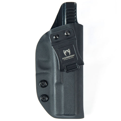 KOBRA Products IWB Holster for Glock 17, Holsters for Glock 17 22 31, Made in USA Kydex IWB Glock Holster, Glock Concealed Carry Inside Waistband Holster with Adjustable Cant - Right Hand