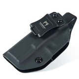 KOBRA Products IWB Holster for Glock 19, Glock 19 holster fits 19X 23 & 32, Made in USA Kydex IWB Glock Holster, Kydex Glock Concealed Carry Inside Waistband Holster with Adjustable Cant -Left Hand