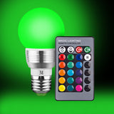 KOBRA Color Changing Light Bulb + Remote