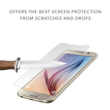 Samsung Galaxy S6 Screen Protector (0.3mm 9H Tempered Glass) Ultra Thin With Premium HD Clarity – Shatterproof Ballistic Shield, Anti Fingerprints, Scratch Proof, Max Touch Accuracy Lifetime Warranty