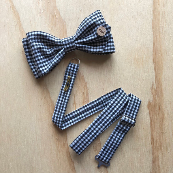 foundandhound Bow with Tie