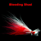 Bleeding Shad Hybrid-Skirt Finesse Jig