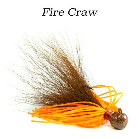 Fire Craw Geyser (Ned Rig), 2 pack