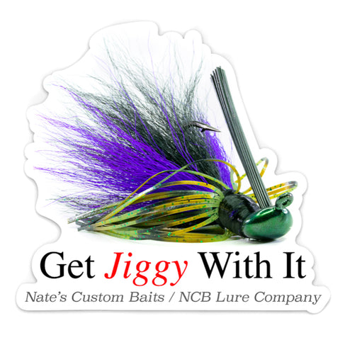 "Junebug ""Get Jiggy With It"" Decal"