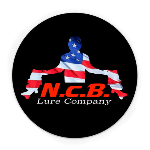 Round USA Theme NCB Decal