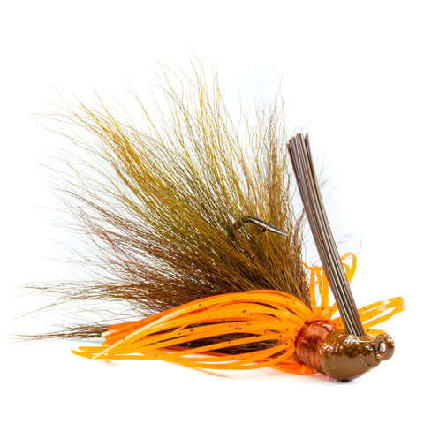 Hybrid-Skirt Swim Jig