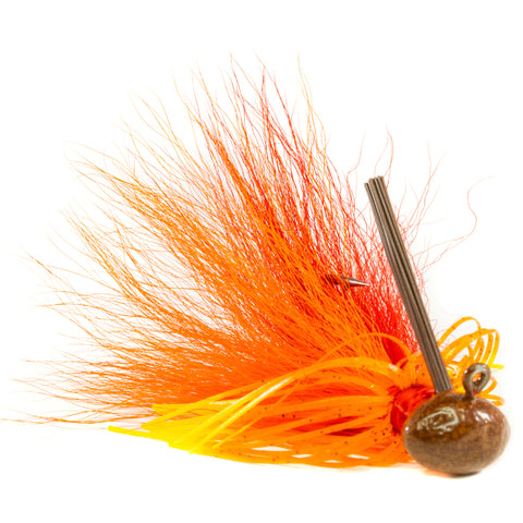 Hybrid-Skirt Football Jig, XL