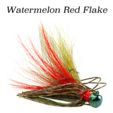 Watermelon Red Flake Geyser (Ned Rig), 2 pack