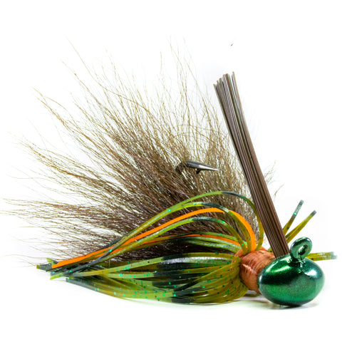 Hybrid-Skirt Football Jig