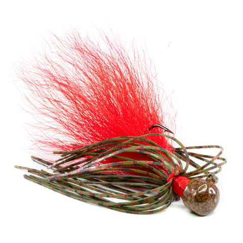 Hybrid-Skirt Ned Rig, 2 pack