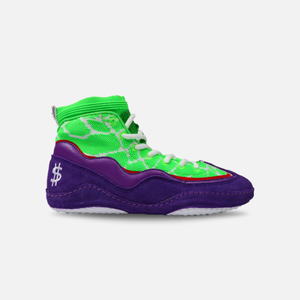 "WB 3.0 ""Joker Meredith"" Wrestling Shoes - Wrestle Boutique"