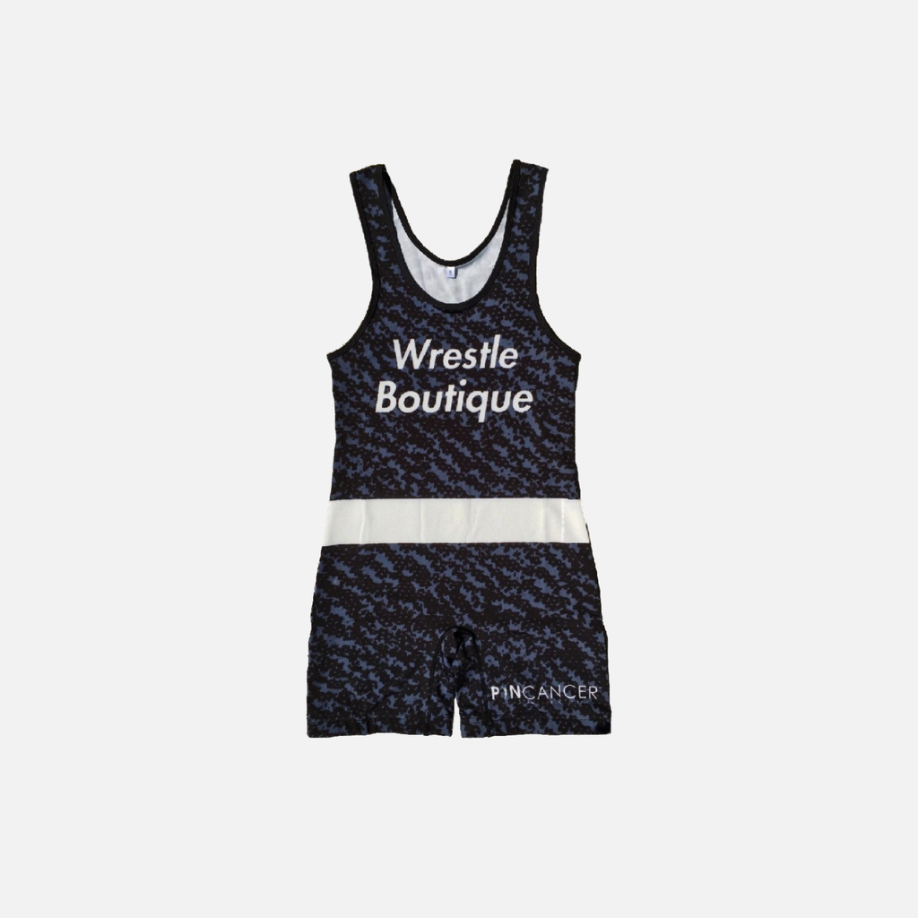 Wrestle Boutique x PinCancer Singlet - Wrestle Boutique