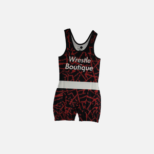 Black Widow Singlet - Wrestle Boutique
