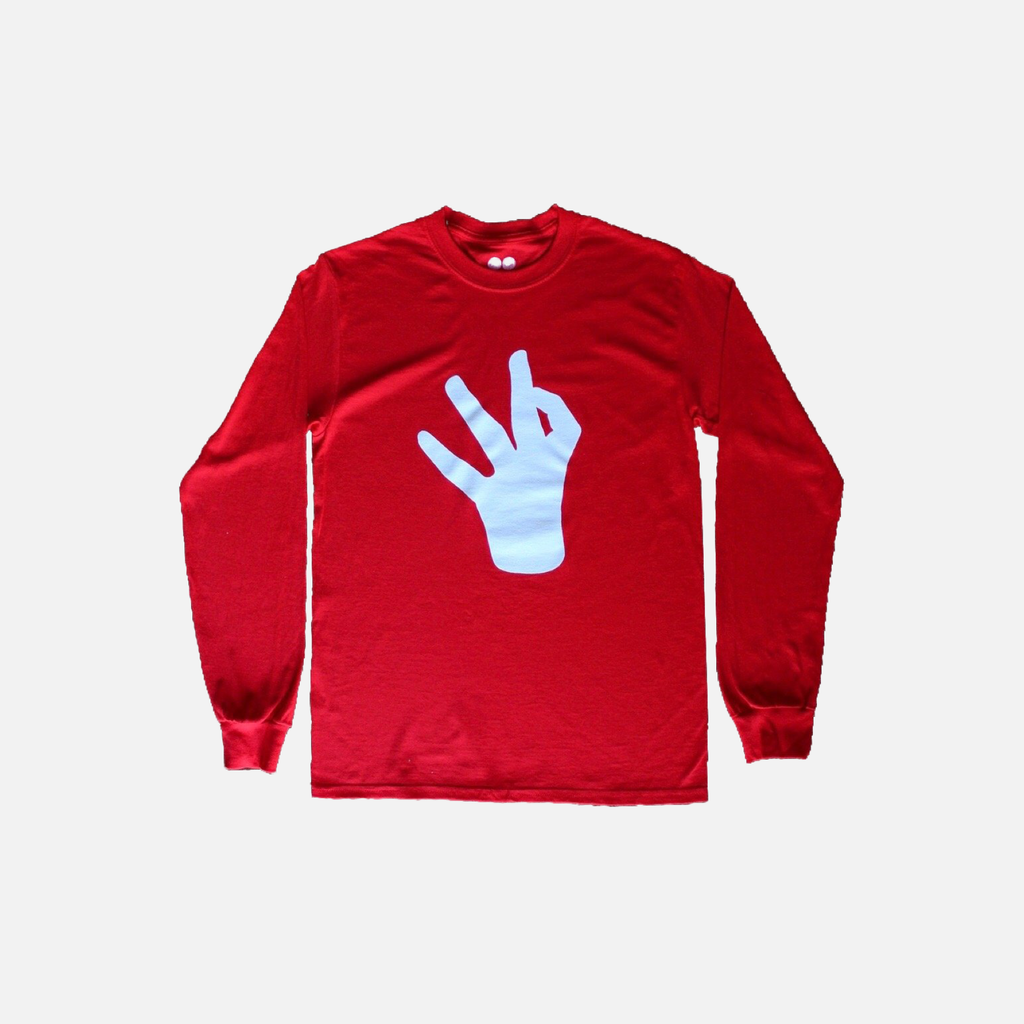 WB Hand Logo Long Sleeve - Wrestle Boutique