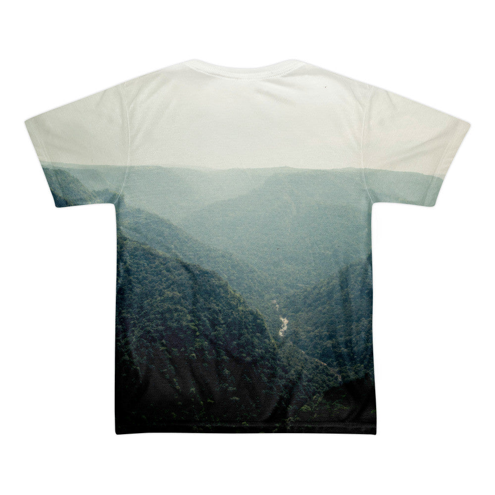 Fog - Dual Sided Sublimation T-Shirt on American Apparel
