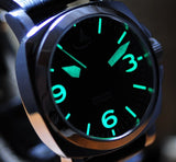 'MODELLO' 44MM POLISHED SS MARINA MILITARE STYLE WITH HI-BEAT AUTO