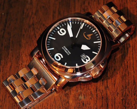 'MODELLO RG' 44MM ROSE GOLD SS MARINA MILITARE STYLE