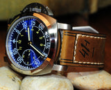 47MM HOMAGE ITALIAN LUFTWAFFE HANDWINDING BEAUTY!