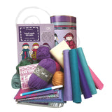 Abbey - starter wardrobe sewing and knitting kit