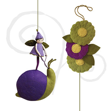 Readymade Flower Fairy Mobile