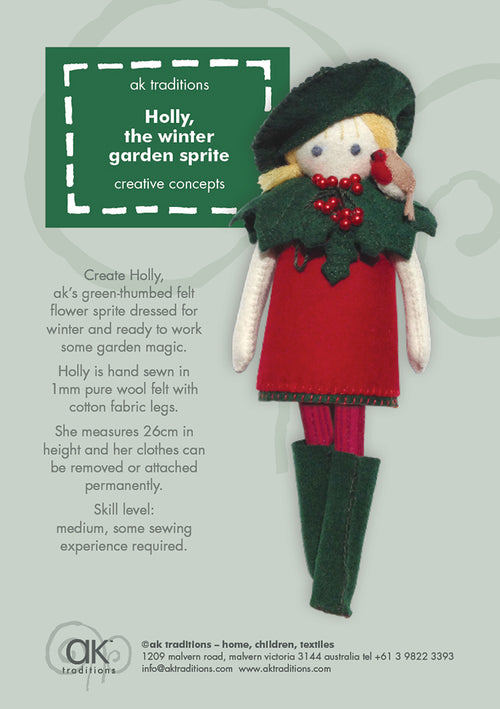 Holly, the winter gardener kit