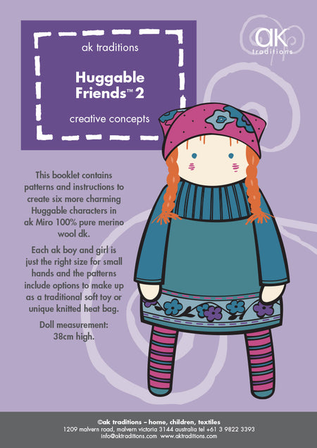 Huggable Friends two e-pattern