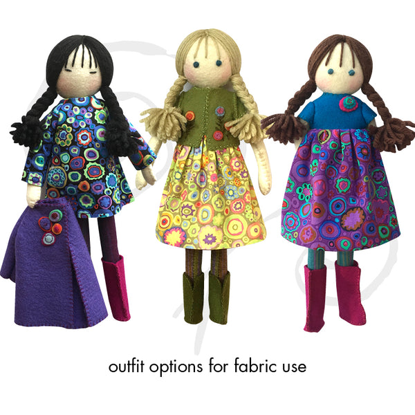 Lily and friends, Colourway 13
