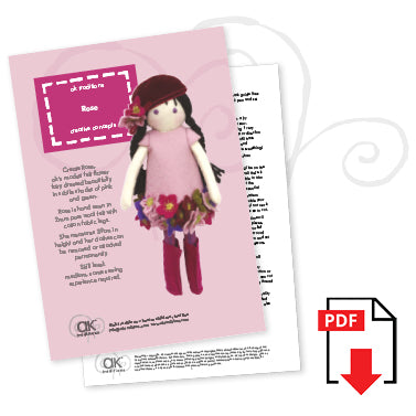 Lily & Friends (26cm doll) e-pattern