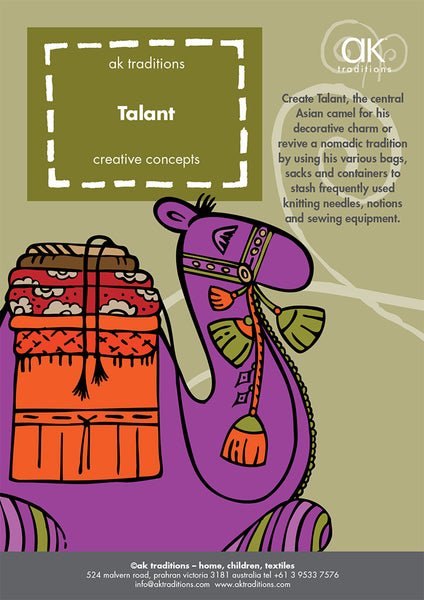 Talant, the central Asian camel