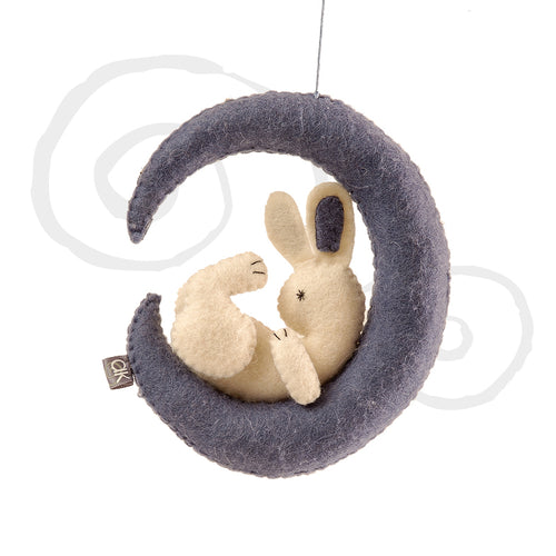 rabbit in the moon mobile
