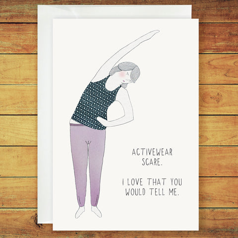 Astra Greeting Card