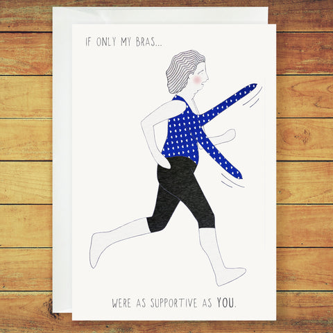 Jane Greeting Card