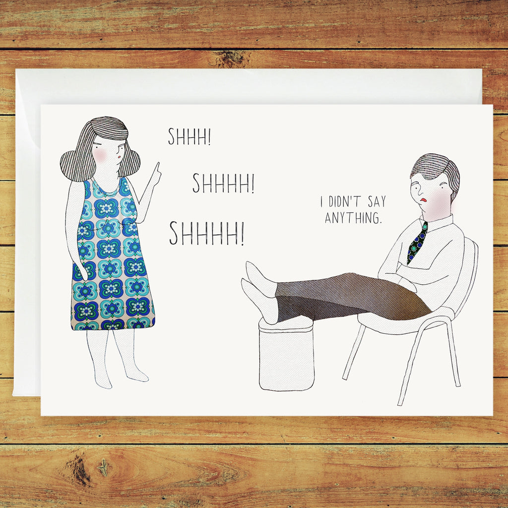 Penny and Mark Greeting Card