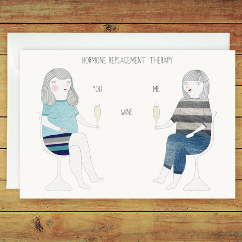 Alison and Brett Greeting Card